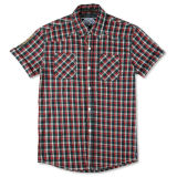 Chemise de coton ordinaire, chemise faite sur commande pour l'homme