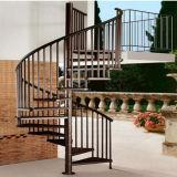 屋外のためのMordenの家のステンレス鋼の螺旋階段