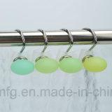 Красочный декоративный пластик душ крюки с Polyresin шарики