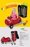 Type empilable élégant chariot de Kiddie de centre commercial