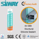 Pegamento estructural del silicón de la calidad de Dow Corning para la construcción