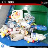Máquina de reciclaje plástica para el desecho inútil de la botella del animal doméstico