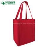 Cheap écologique Logo personnalisé à l'Épicerie sacs fourre-tout Non-Woven