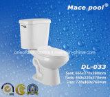 목욕탕 위생 상품 Siphonic 2 조각 화장실 Wc (DL-033)