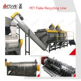 Waste Pet Bottle Flake recycling LINE and which-hung Machine