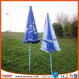 O estábulo personaliza o guarda-chuva de Sun para anunciar