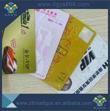 Adesão personalizado Cartão de PVC com ouro hot stamping tiras