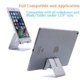 Soporte de aluminio soporte de montaje universal para el teléfono celular iPhone Samsung tabletas pastilla