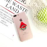 Soporte caliente del teléfono del sostenedor del anillo del teléfono celular de los accesorios del teléfono móvil del diseño de la fruta de la venta