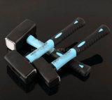 Двойная ручка цвета TPR облицовывая молоток в инструментах XL0062