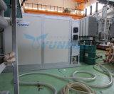 Macchina utilizzata di rigenerazione dell'olio del trasformatore di rendimento elevato con terra più piena