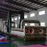 Commercial utilisé Jeux de Sport gonflables géants, gonflable Obstacle, adultes et enfants de l'eau gonflable obstacle pour la vente de cours