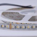 Vasta gamma dei chip di applicazione e di colore 60/72/84/96LEDs/M 30.8W RGBW 4 in 1 indicatore luminoso rigido della corda della striscia di 5050SMD LED con 5 anni di garanzia