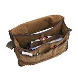 Los Mens forman el bolso funcional del recorrido del mensajero de la lona para viajar
