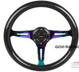 13 Algemeen begrip 320mm350mm van het Stuurwiel van de Koolstof van de Autorennen van de duim 14inch