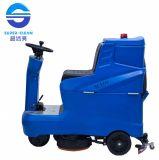 Sc1350 Commerial Dual Brush Low-Noise Ride sur machine de nettoyage Scrubber (plancher)