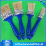 Hecho en buenos cepillos de pintura de China con la maneta plástica azul