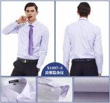 Los hombres de algodón camisetas Camisa de vestir hombre camisas informales Long-Sleeved nuevas camisetas de hombre