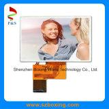 4.3 polegadas 480 (RGB) X272p TFT LCD exibir tela de toque com 500 cd/m2 Interface RGB e brilho