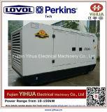 leiser Dieselgenerator 58kw/72.5kVA angeschalten von Lovol-Perkins Engine-20171012K