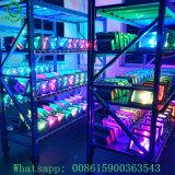 A Todo Color RGB de 10W 20W 30W 40W 50W proyector LED 100W con control remoto