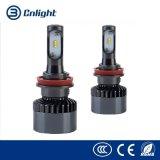 Nlightの新しい到着の高い発電LED自動ランプM2シリーズH1 H3 H7 H10 H8 H9 H11 9005 9006のLEDの自動ヘッドランプ