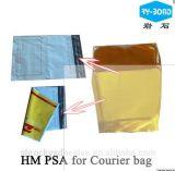 Adhésif chaud visqueux élevé de fonte pour l'étiquette de dos de sac de courier