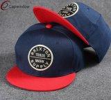 Red Hat Snapback Capwindow моды черного цвета с индивидуального логотипа