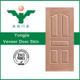 着色海外市場のドアの皮のための積層物によって形成されるMDFのベニヤ