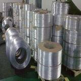 空気状態のアルミニウムコイルの管
