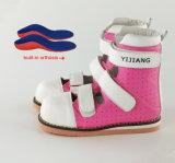 Розовый цвет детей ортопедической обуви стабильности поддержки обувь