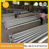 La Chine fournisseur 6m 7m 8m Installation facile des voyants LED solaire lampe solaire