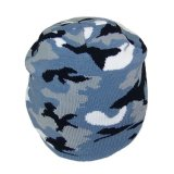 Custom Military Camouflage Camo Beanie kneels to Hats
