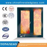 Trasparente finestra di fuoco isolata forte calore Ei60