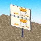 Manufatura Backlit Dobro-Lado do quadro de avisos para a venda