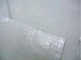 白いペインターの接着剤の粘着性があるフェルトの自己接着羊毛