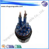LV/Low 연기 또는 내화성 전력 케이블