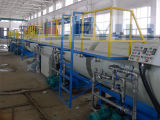 HDPE de Plastic Thermische Machines van de Pijp van de Uitdrijving