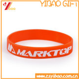 Custom Logo Silicone Bracelet / Wristband for Promotion Gift