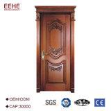 チークの木製デザインの木製の前ドア