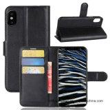 iPhone x аргументы за телефона кожаный бумажника защитное