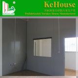 Fasten aufgebautes vorfabriziertes Haus für temporäres verwendet