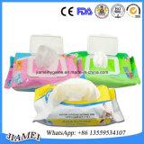 Tecidos descartáveis do bebê do OEM para bebês com preço de fábrica