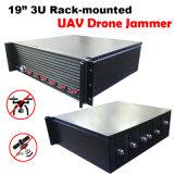 3u 19pulgadas Rack-Mounted Uav aviones teledirigidos Jammer/ Jammer señal de seguridad