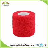 Commerce de gros Non-Woven auto-adhésif médical élastique Bandage cohésif de sport