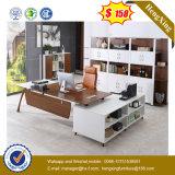 China-Fabrik-Preis-Schwarz-Farben-Manager-hölzerner Büro-Tisch (UL-MFC238)