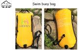bouée plus sûre jaune de flotteur du nageur 28L pour l'eau libre