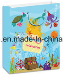 Bolsa de papel de regalo en 3D con la etiqueta del proveedor de Yiwu