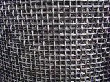 Malla de alambre soldado cuadrados engastados malla de alambre galvanizado a la pantalla de cristal