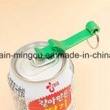 Geschenk-Andenken-billig kundenspezifische unbelegte Aluminiumflaschen-Öffner-Schlüsselkette